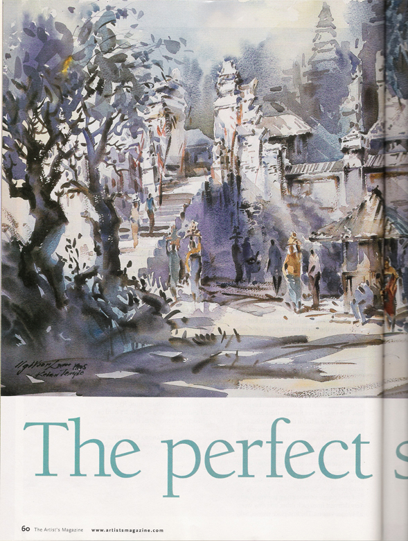 Artist Magazine The Perfect Strokes by Woon Lam Ng
